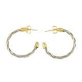 New Twist Hoop Earrings - Lone Palm Jewelry