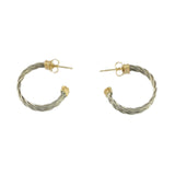 Triple New Twist Hoop Earrings - Lone Palm Jewelry