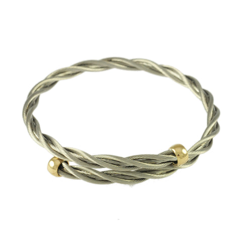 Bypass Single New Twist Cuff - Lone Palm Jewelry
