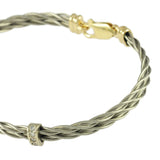 Double Diamond Wrap New Twist Bracelet - Lone Palm Jewelry