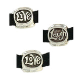 LIVE LAUGH LOVE Pipeline Bead - Lone Palm Jewelry