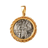 Christ and Doge AR Grosso in 14k - Item #7475