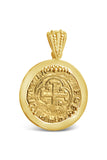 Authentic Old World Spanish Gold Coin - 1 Escudo in a 18k Gold Frame-  Item #8826
