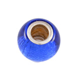 Gator Blue Glass Bead - Lone Palm Jewelry