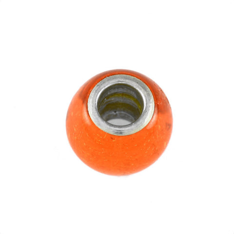 Gator Orange Glass Bead - Lone Palm Jewelry