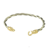 New Twist Horse Shoe Closure Bracelet - THERE IS NO ITEM NUMBER FOR THIS!!! - Lone Palm Jewelry