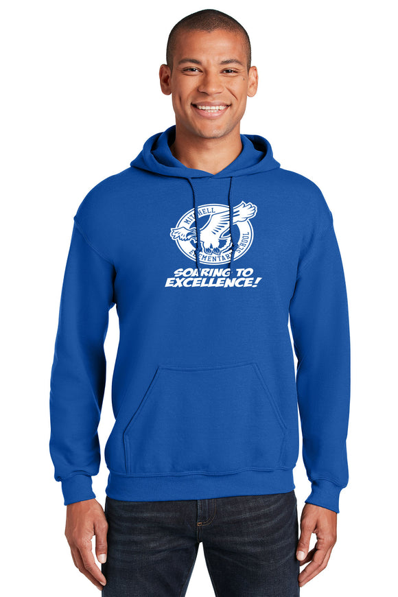 Mitchell Gildan® - Heavy Blend™ Hooded Sweatshirt