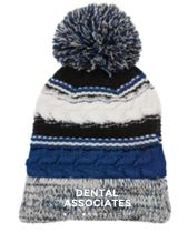 Dental Associates Pom Pom Beanie
