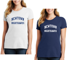 Newtown Cheer Ladies T-shirt LPC61