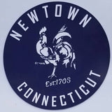 Newtown Vintage 4.5 Inch Circle Magnets