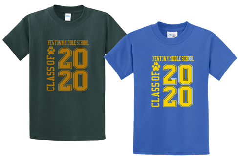 NMS Class of 2020 Tshirt PC61/380