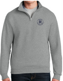 Reed School Embroidered 1/4 Zip Sweatshirt