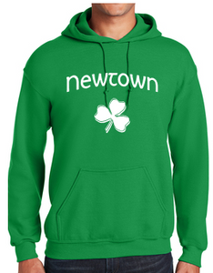 St Patrick's Day Hooded Sweatshirt 18500/B