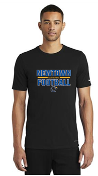 NHS Football Nike Dri-FIT Cotton/Poly Tee