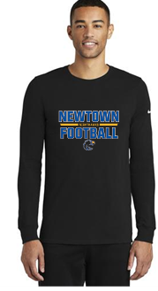 NHS Football Nike Dri-FIT Cotton/Poly Long Sleeve Tee