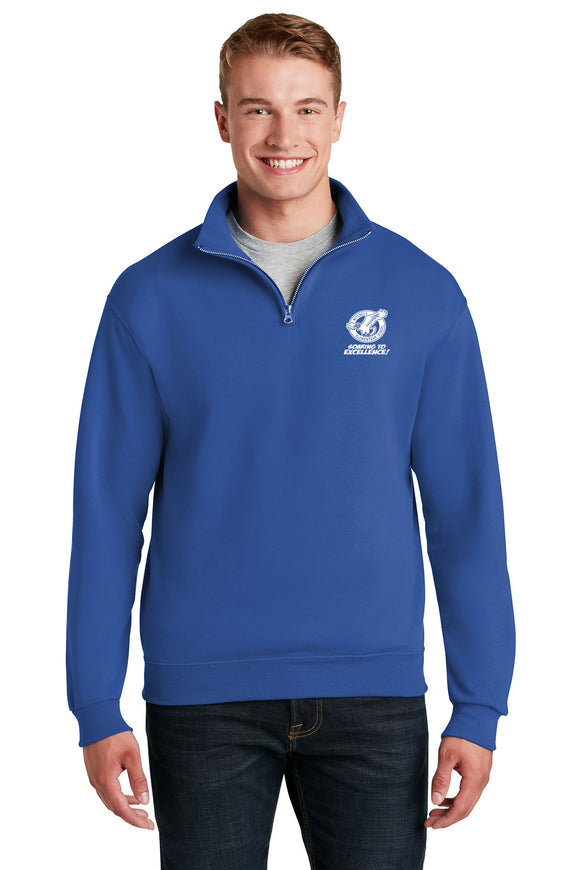 Mitchell JERZEES® - NuBlend® 1/4-Zip Cadet Collar Sweatshirt