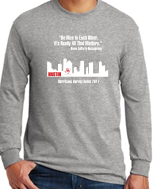 Houston Relief Long Sleeve T-Shirt 5400b