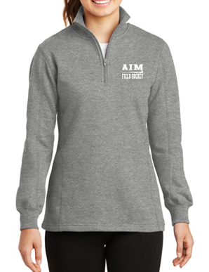 AIM Ladies 1/4 Zip Sweatshirt LST253