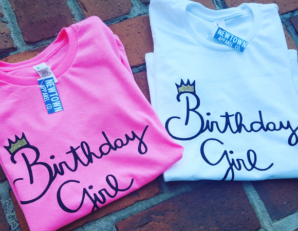 Birthday Girl Youth T-Shirt