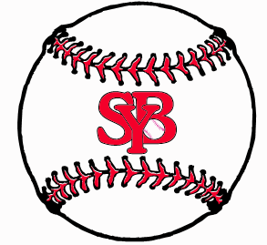 Southbury Youth Baseball Outdoor Car Magnet