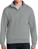 1/4 Zip Cadet Collar Sweatshirt 995M