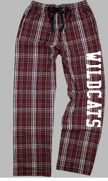 Bethel Wrestling Flannel Plaid Pajama pants F20MAR