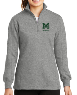 MMS Ladies 1/4 Zip Sweatshirt LST253