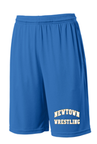 Newtown Wrestling Competitor Pocket Shorts ST355P/YST355P