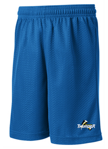 Thunder Baseball Sport-Tek Mesh Warm Up Shorts ST510/YST