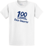 100 Days of School T-shirt (Cotton & Mositure Control) PC61/380