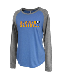 Newtown Baseball Womens Jersey Raglan 5217