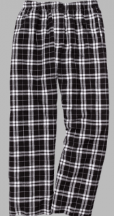 Add on discounted Holiday Flannel Plaid Pajama Pants YF20SBLK
