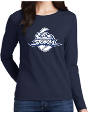 Storm Womens/Mens Long Sleeve Cotton T-Shirt 5400/L