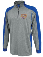 Newtown Baseball 2 Carbon Warmup 1/4 Zip 1126/Y