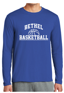 BMS Basketball Long Sleeve Performance T-Shirt