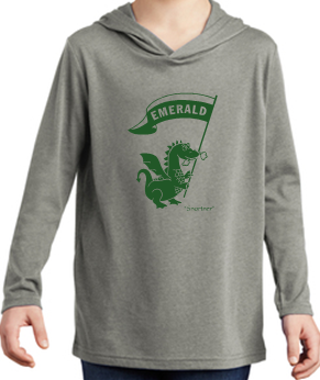 Emerald Elementary Youth Long Sleeve Hoodie DT139Y