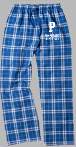 Pomperaug Elementary Flannel Plaid Pants Y20Y/F20Y