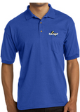 Thunder Baseball DryBlend 6 oz Jersey Knit Polo w/ Pocket 8900/72800L