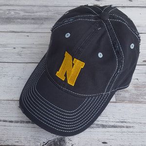 Newtown Ripped and distressed hat