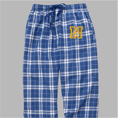 Newtown Middle School Plaid Pajama Pants