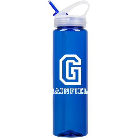 Gainfield 32 oz Super Sipper Water Bottle w/ straw