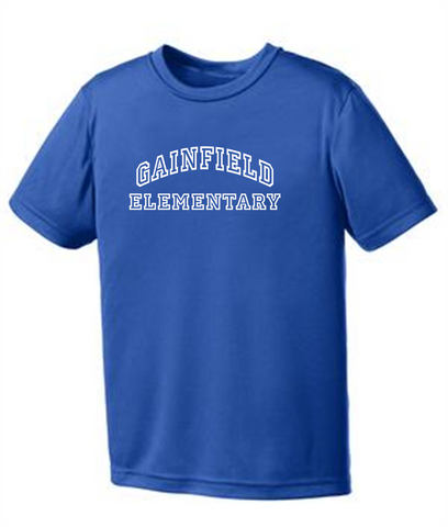 Gainfield Elementary Performance T-Shirt