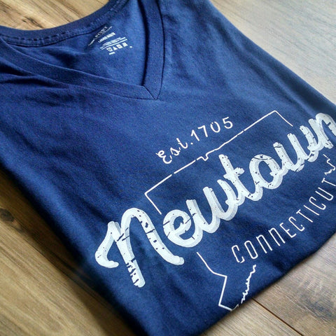Womens Vintage Newtown Premium T-Shirt - 2 Styles & Colors