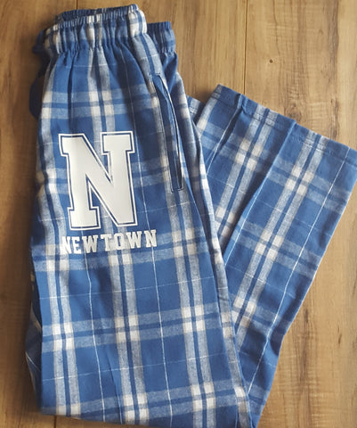 Newtown CT Flannel Pajamas