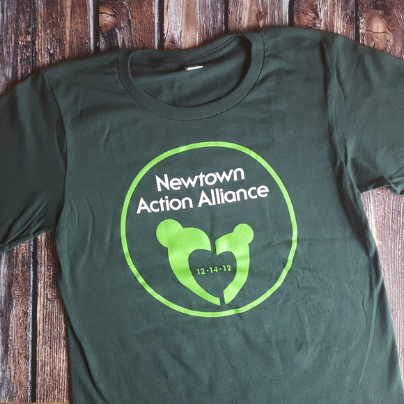 Newtown Action Alliance Adult T-shirt PC150