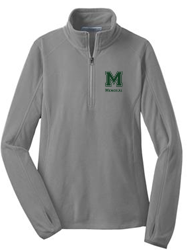 MMS Ladies Microfleece 1/2-Zip Pullover L224
