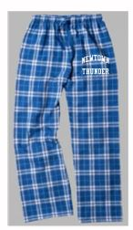 Thunder Softball Flannel Plaid Pants
