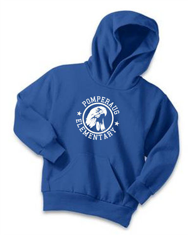 Pomperaug Elementary Eagle Ultimate Hoodies PC90YH