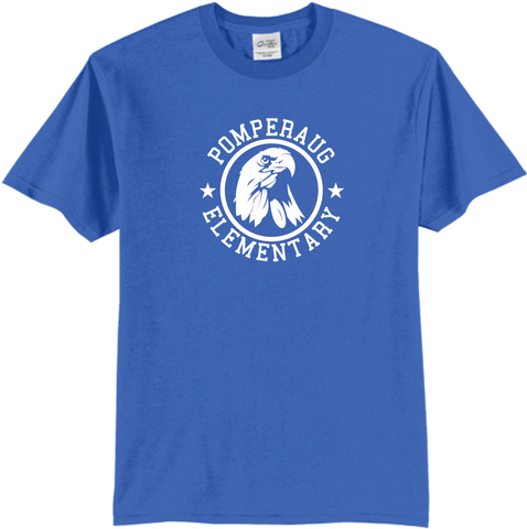Pomperaug Elementary Eagle T-Shirt PC61/Y
