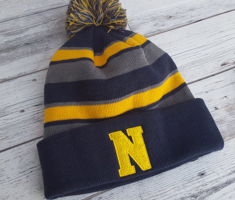 Newtown Winter Pom Pom Beanie Hat